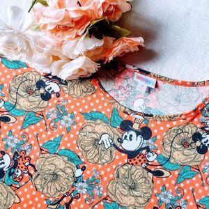 Lularoe Irma Minnie Mouse shirt
